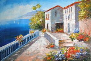 obraz śródziemnomorski